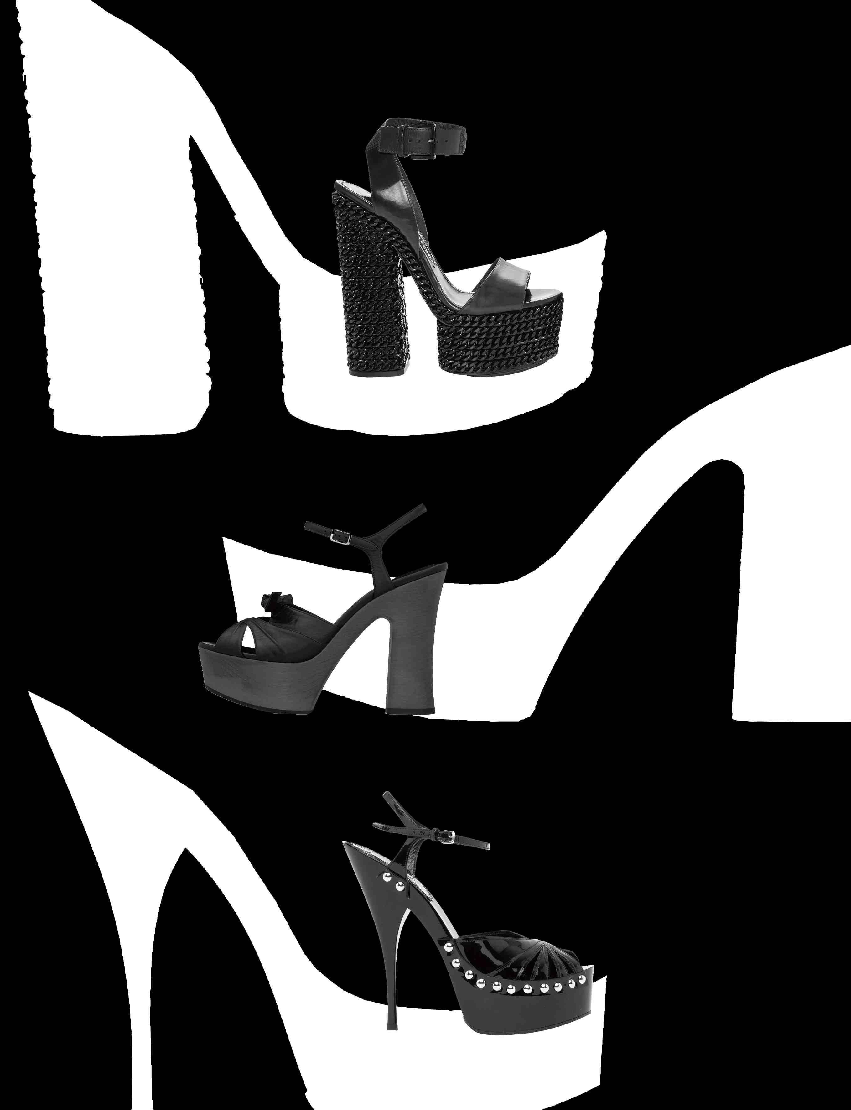 Les sandales à plateformes de l'été