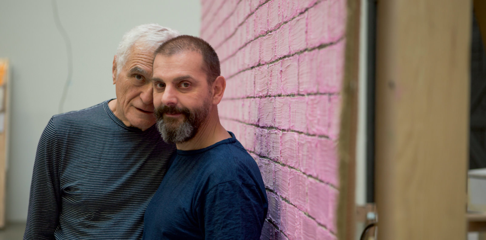 BEST OF 2015: artist Ugo Rondinone and the legendary poet John Giorno at the Palais de Tokyo in Paris