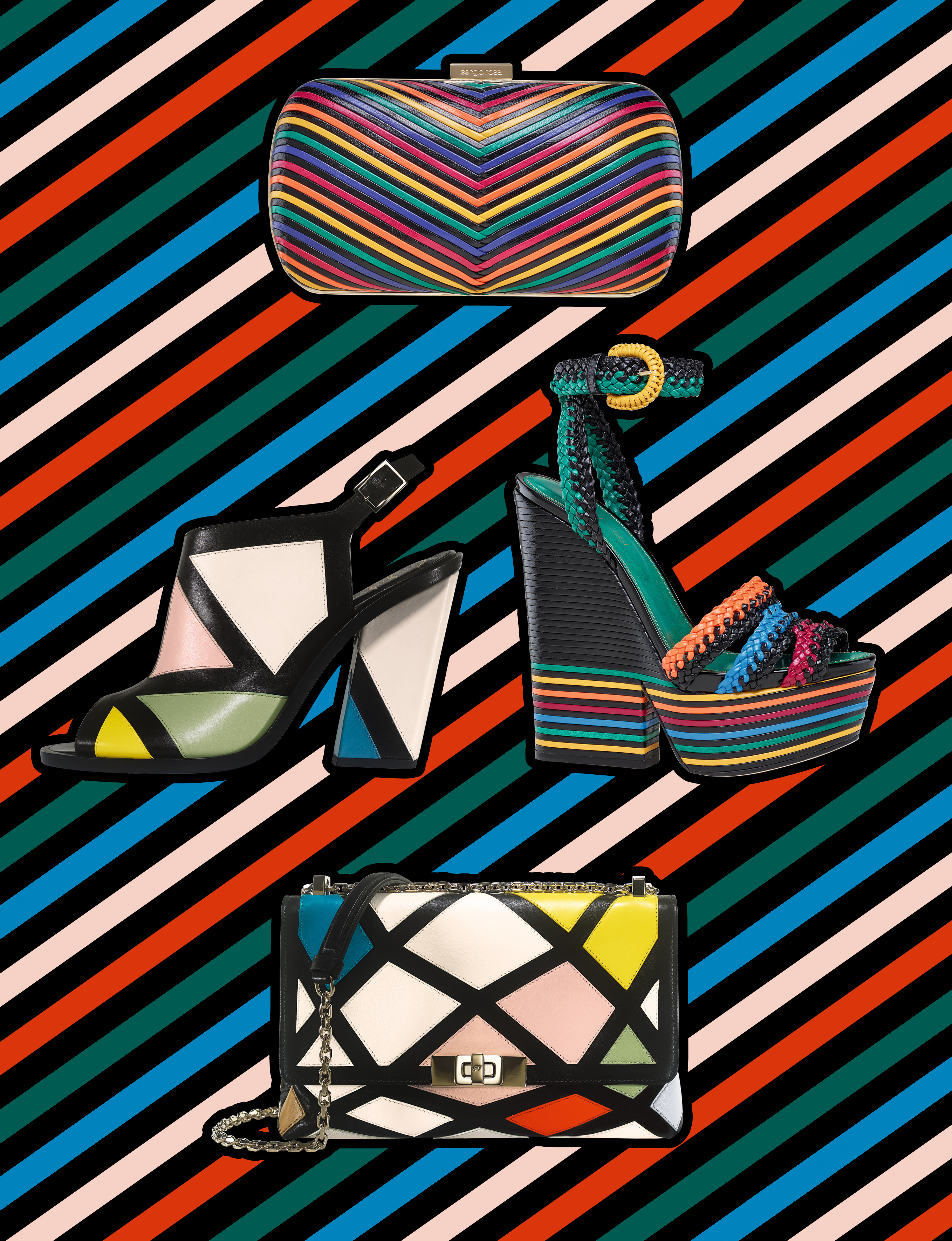 Our selection of graphical and colorful accessories