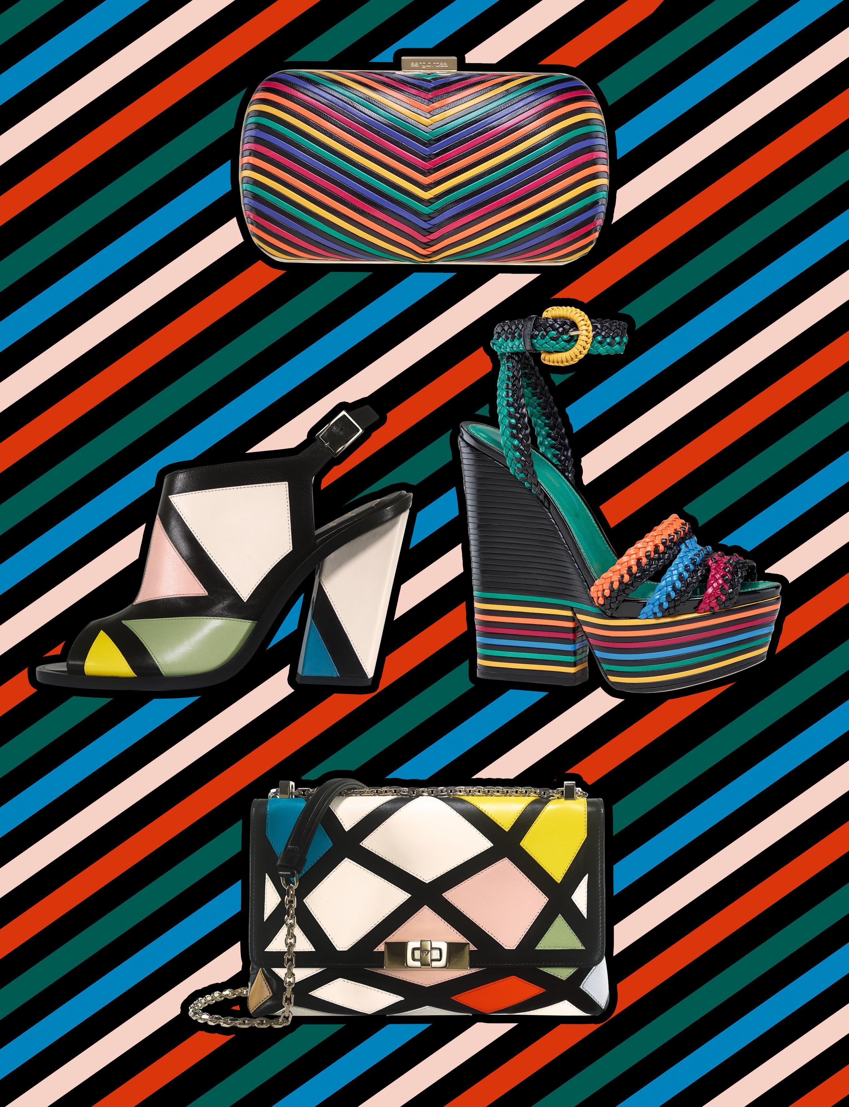 La sélection d'accessoires graphiques et colorés