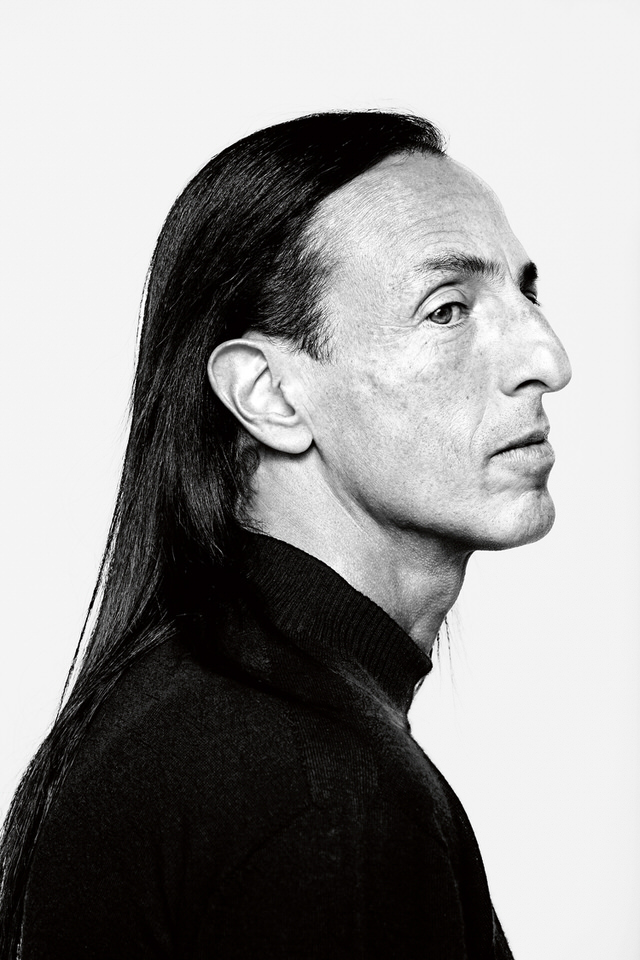 Exclusive interview with  fascinating fashion  designer Rick Owens