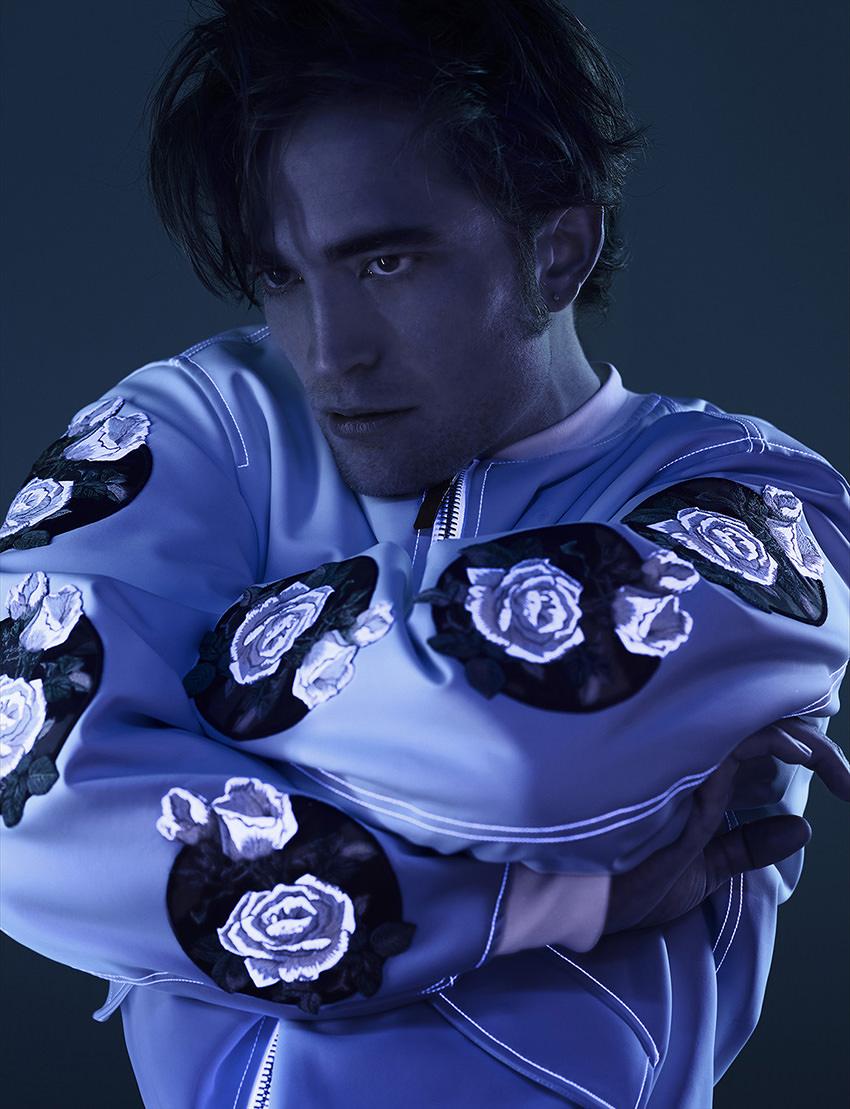 Robert Pattinson photographié par Jean-Baptiste Mondino.