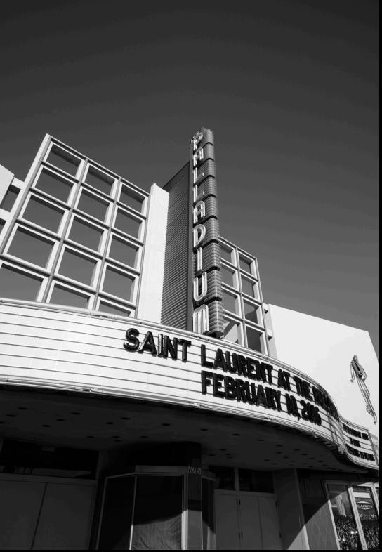 """Hedi Slimane's portrait videos for """"Saint Laurent at the Palladium"""""""