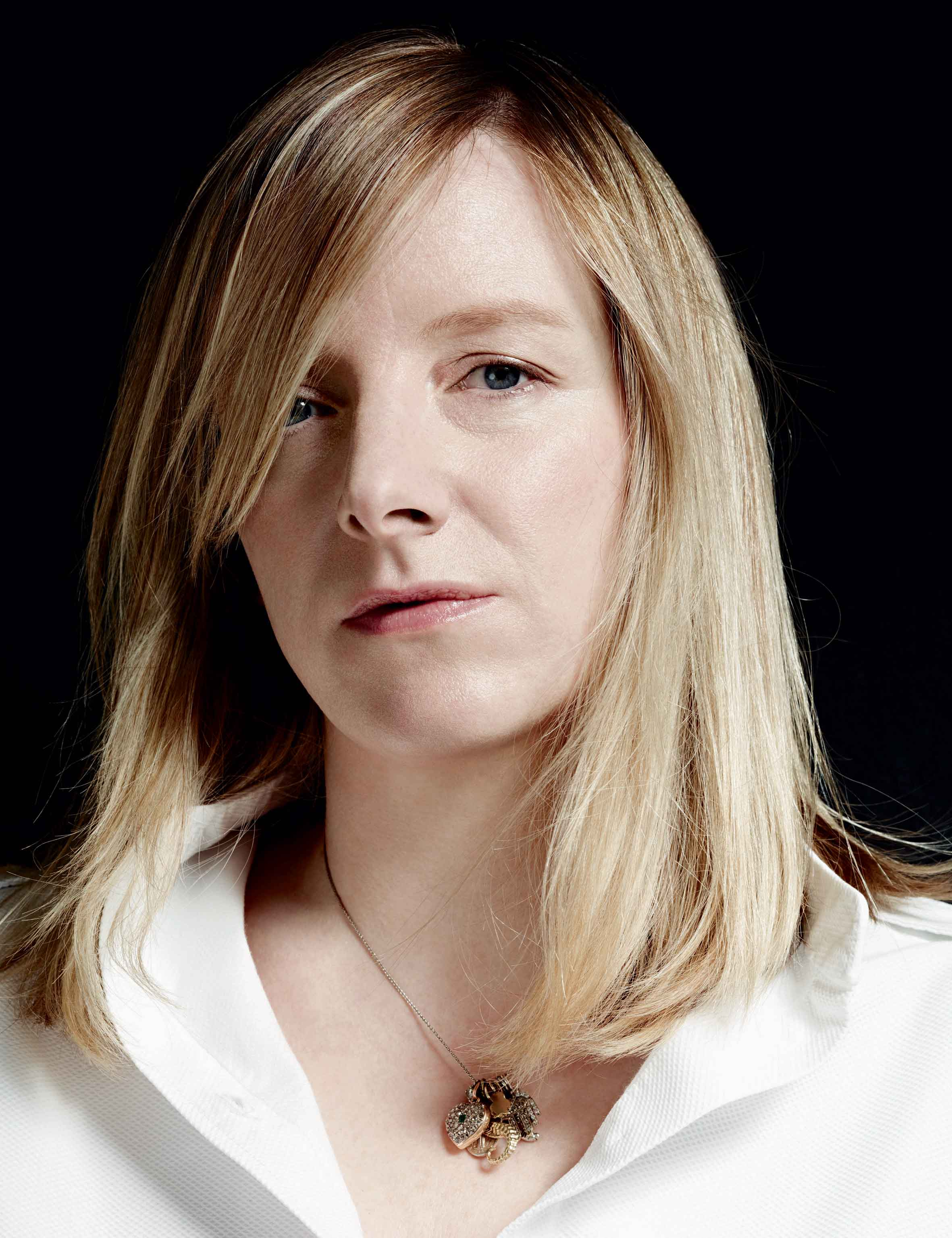 Interview with Sarah Burton, artistic director of Alexander McQueen