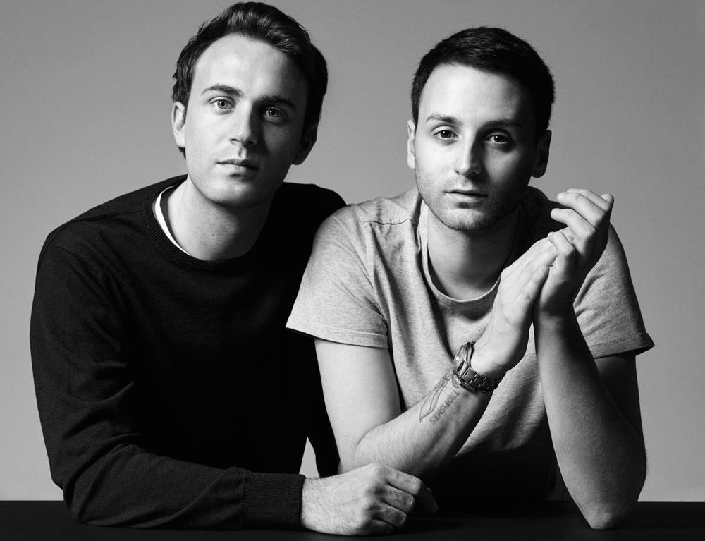 Les confidences du jeune duo à la tête de Courrèges, Arnaud Vaillant et Sébastien Meyer