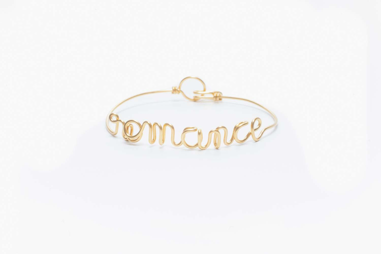 """Le bracelet""""Romance""""créé par Anne-Sophie Baillet."""