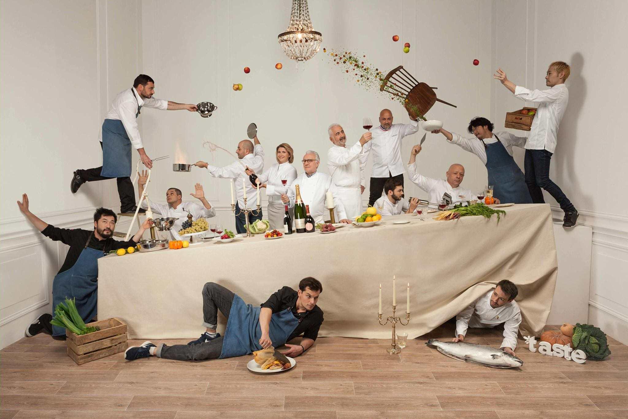 """""""Taste of Paris"""", le festival de la gastronomie réunit les plus grands chefs au Grand Palais"""