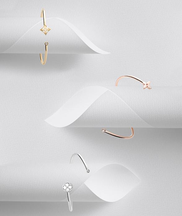 The Idylle Twist bracelets by Louis Vuitton
