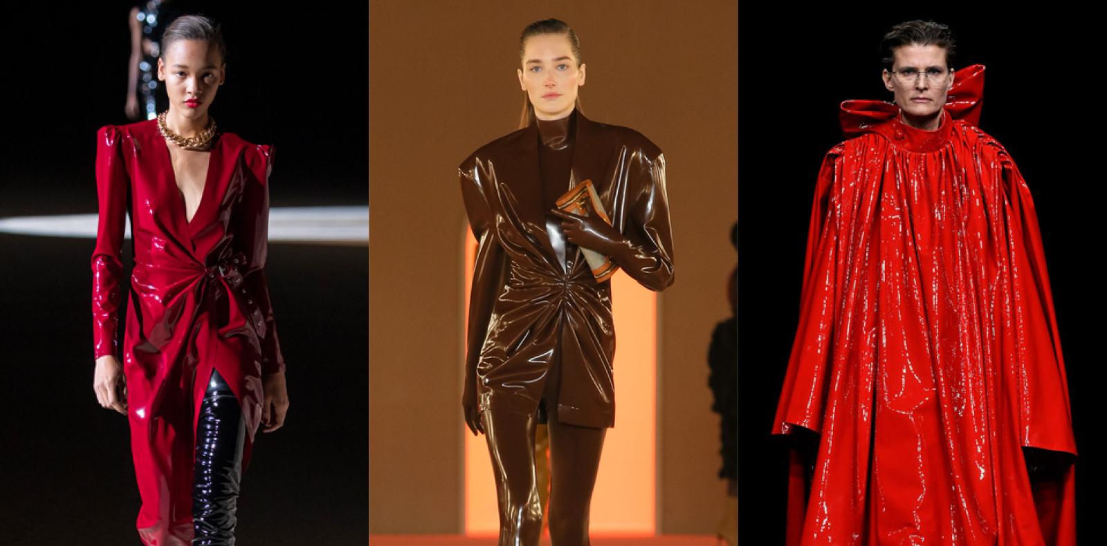 Comment le latex s'est-il imposé dans la mode ?