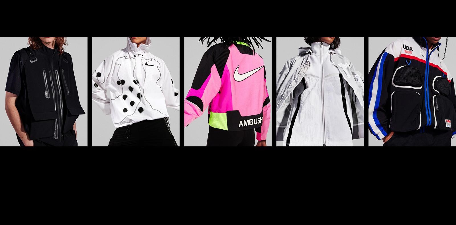 Nike presents 5 fashion collaborations