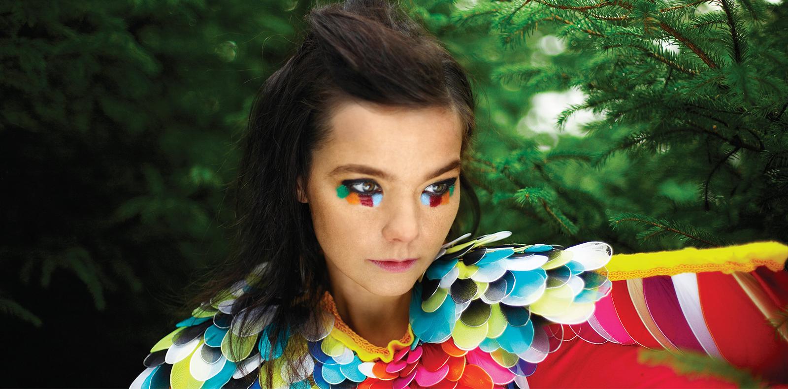 Björk compose un titre qui change selon la météo