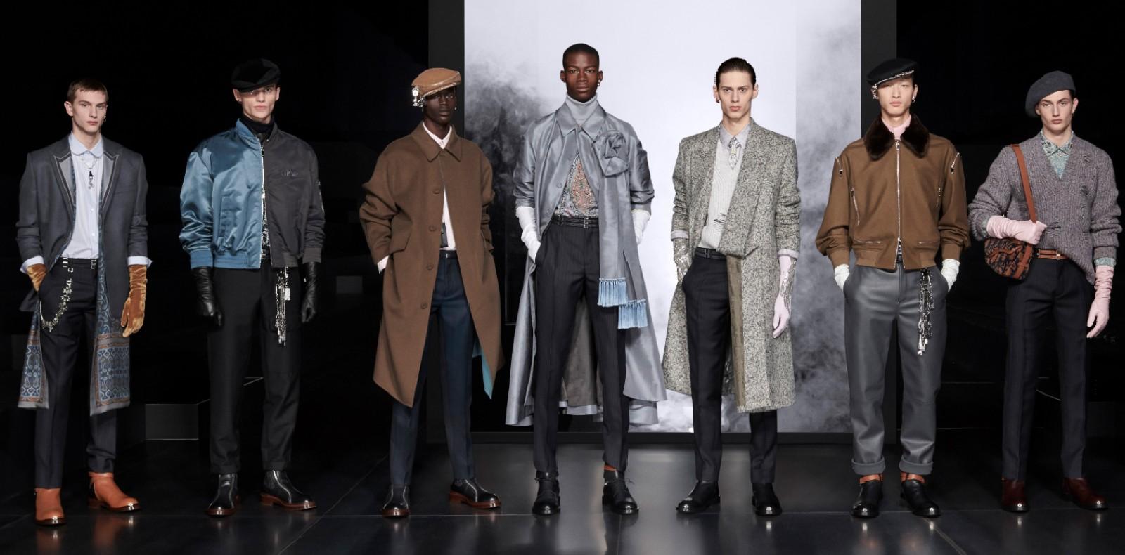 Défilé Dior homme, automne-hiver 2020-2021.