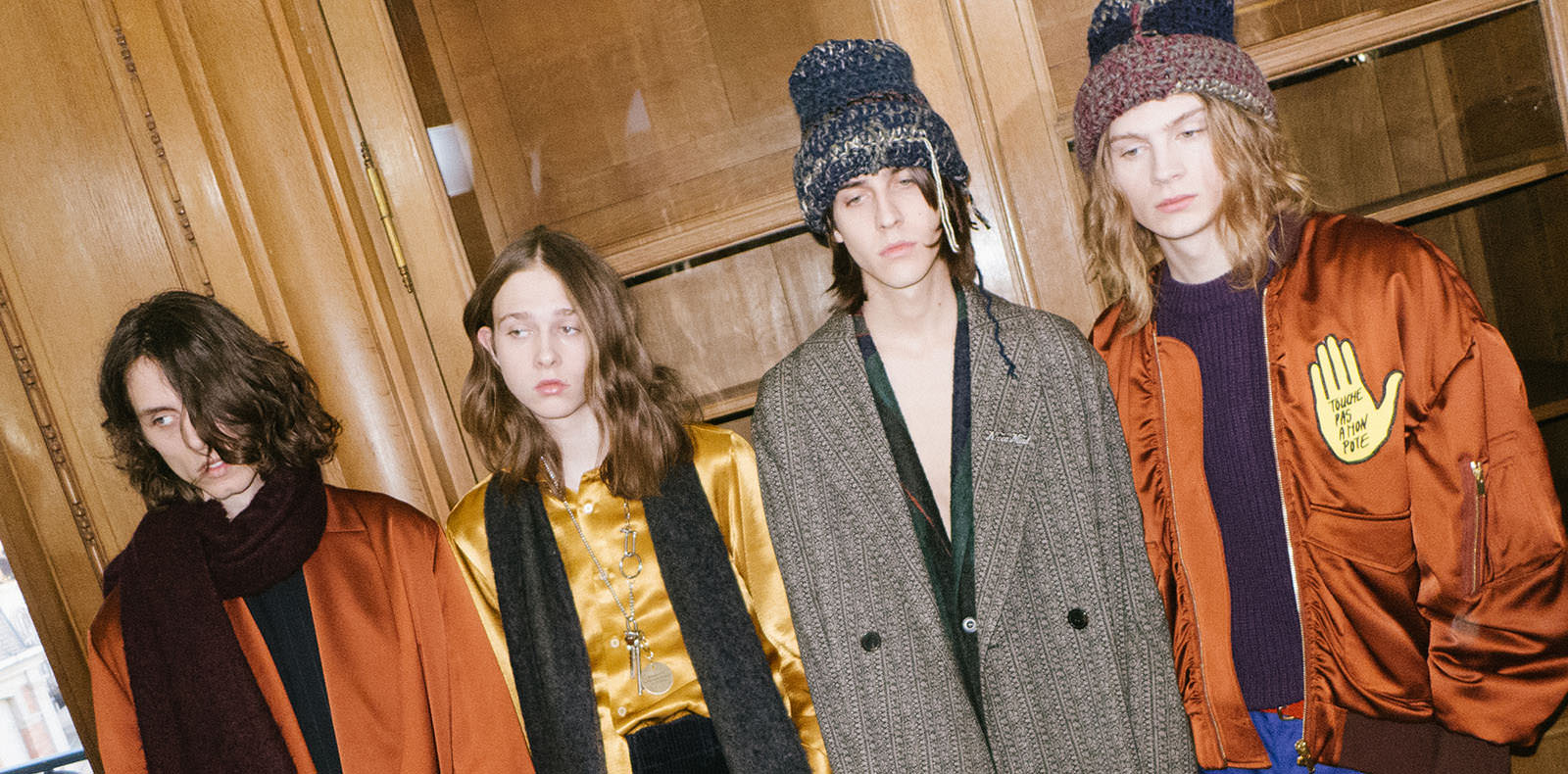 Backstage: Études fall-winter 2017 show seen by Yulya Shadrinsky
