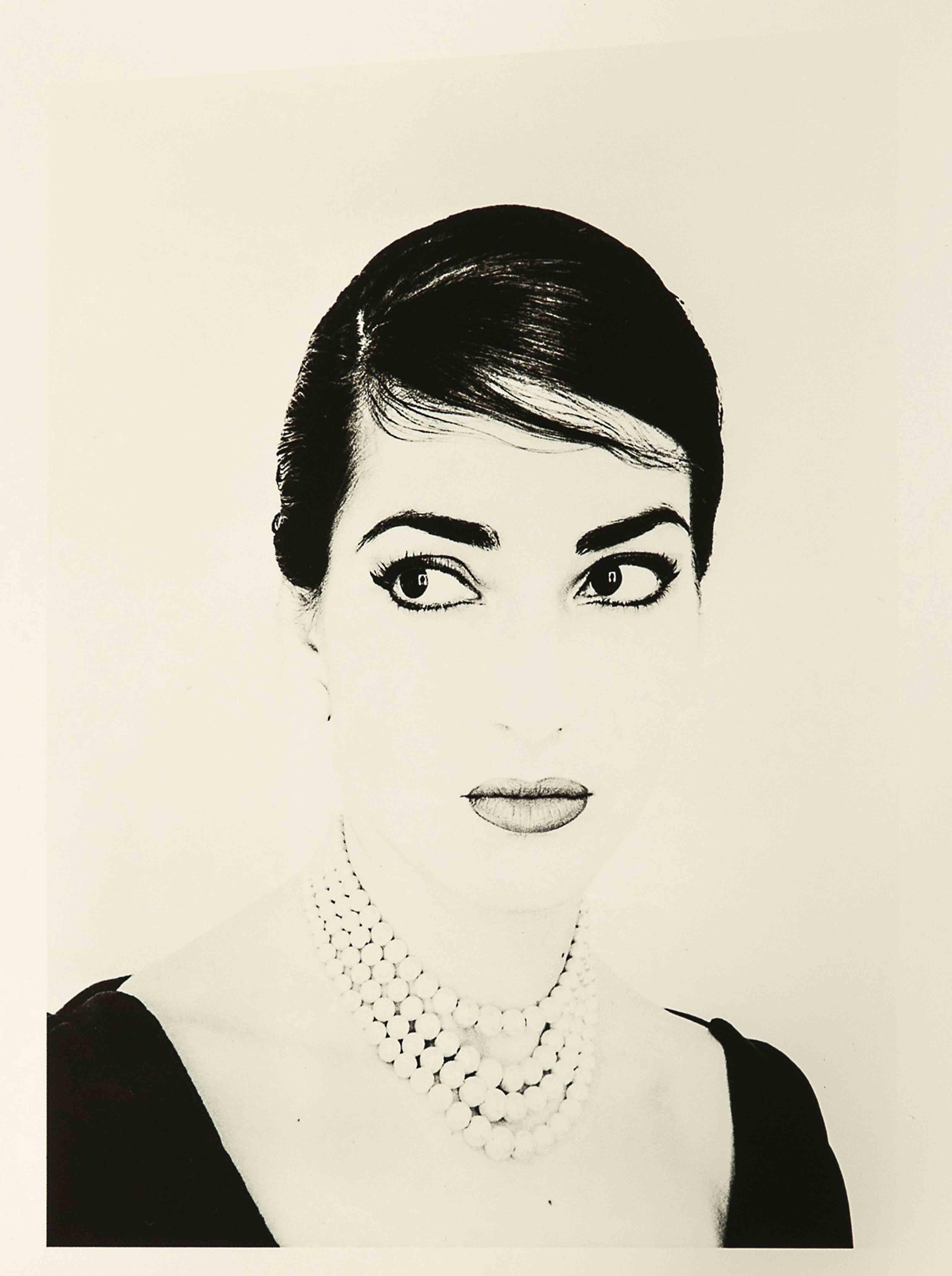Maria Callas, photographie par Jerry Tiffany.