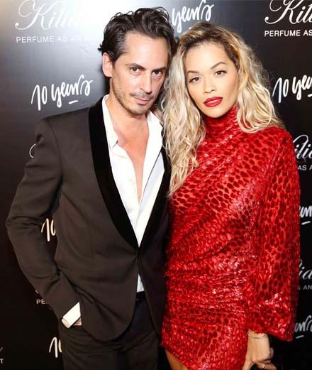 Rita Ora et Kilian Hennessy