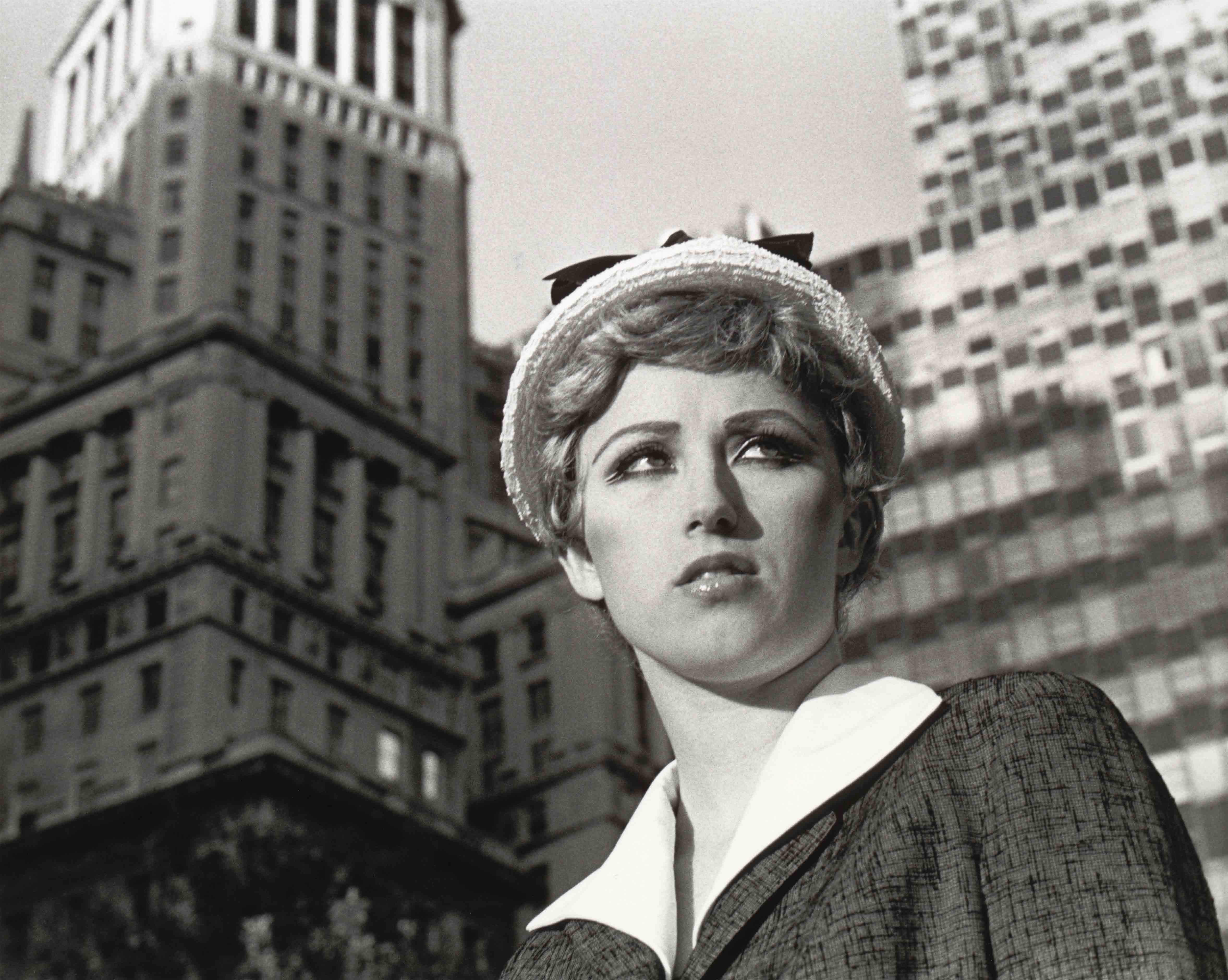 "Cindy Sherman, ""Untitled Film Still #21"" (1978)."