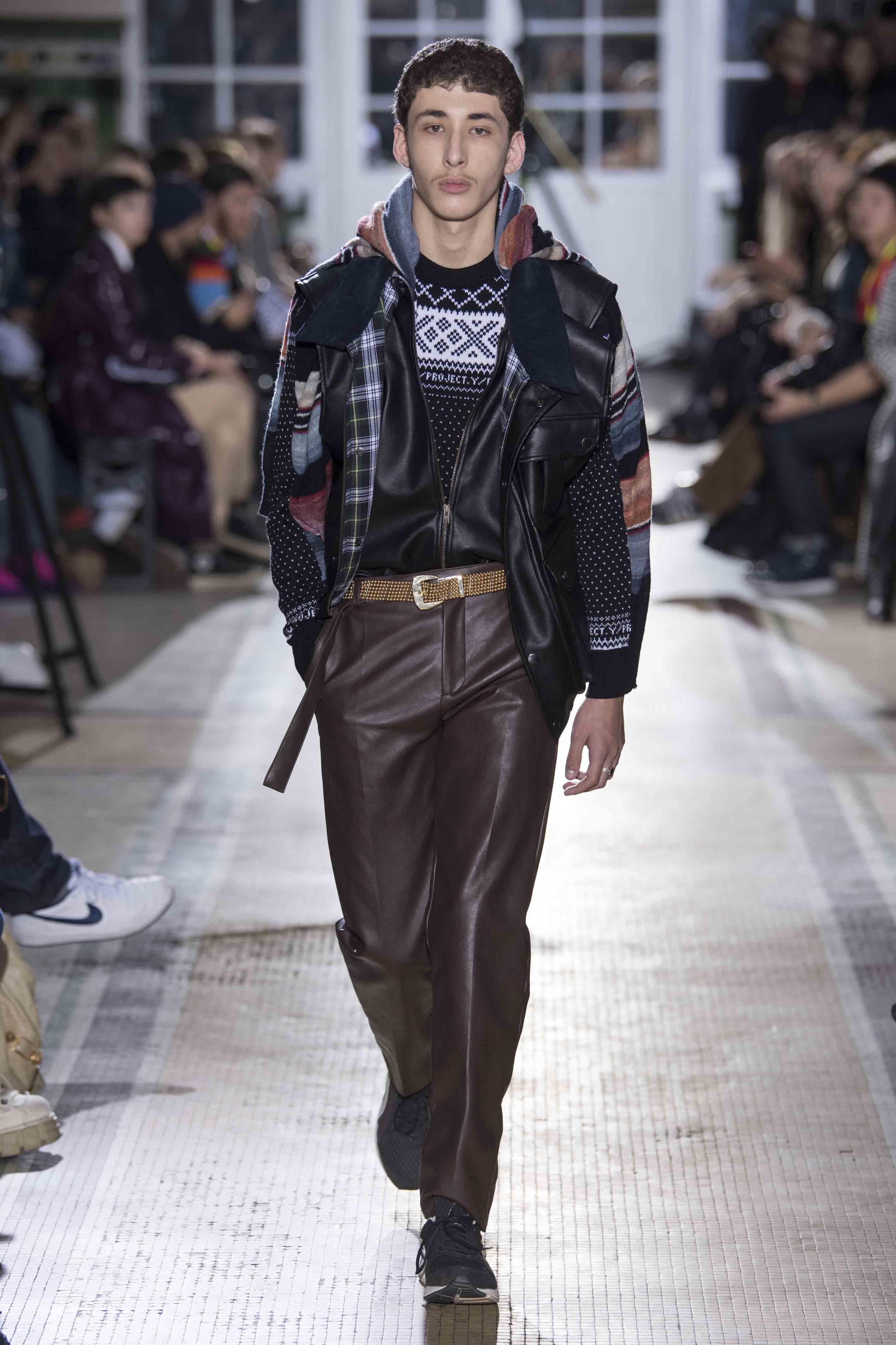 Y/Project men fall-winter 2018-2019 fashion show