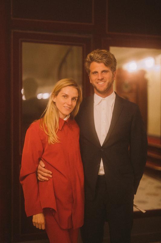 Gaia Repossi et Jeremy Everett