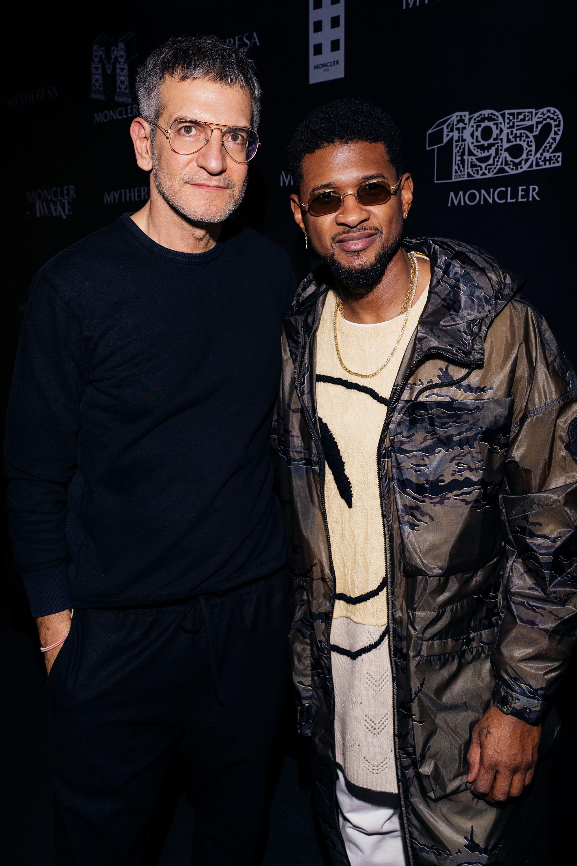 Sergio Zambon et Usher