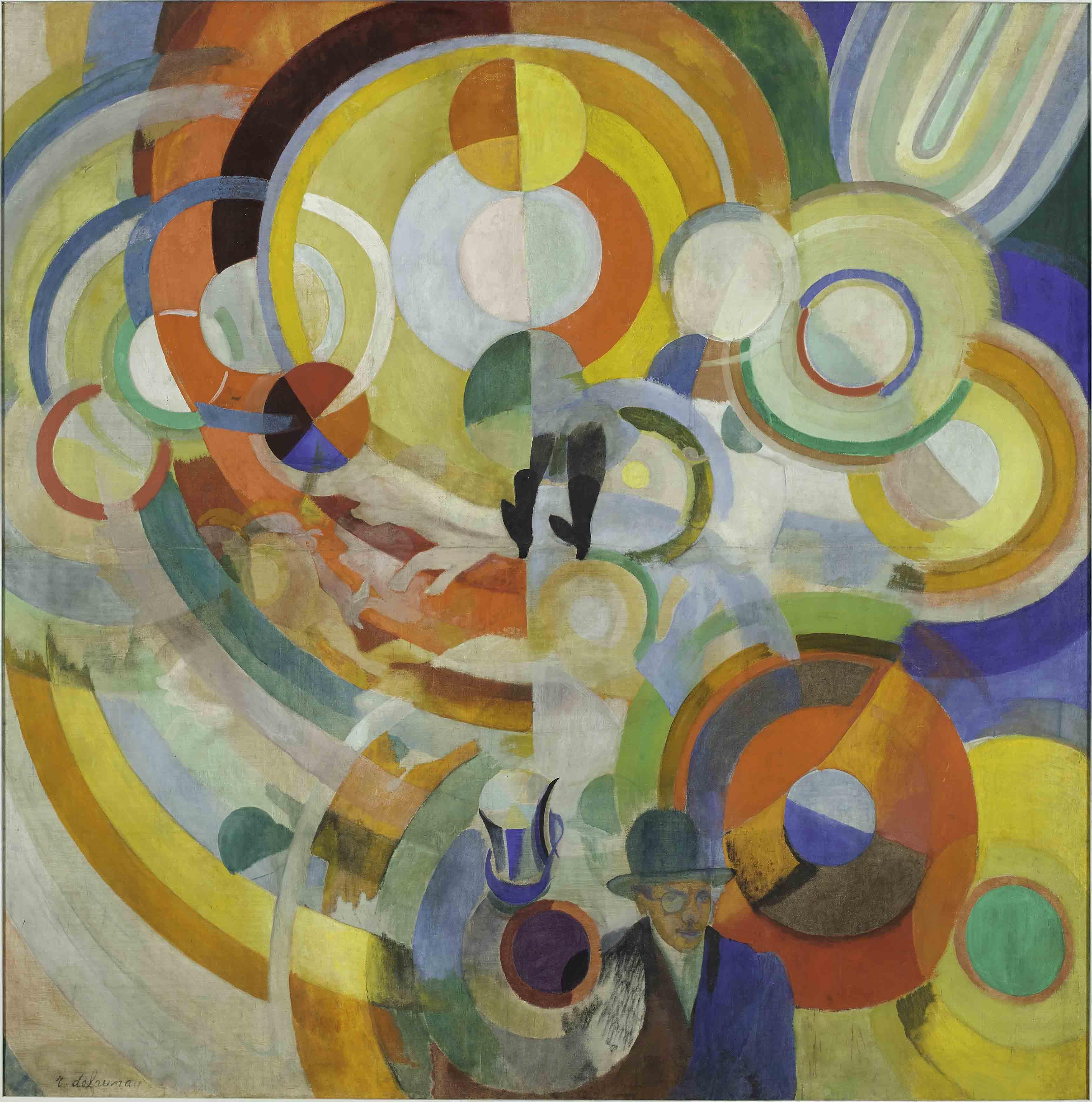 Robert Delaunay, Manège de cochons, 1922
