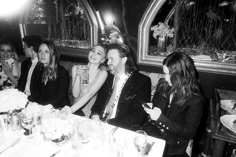 Lily Rose Depp et Kaitlyn deven