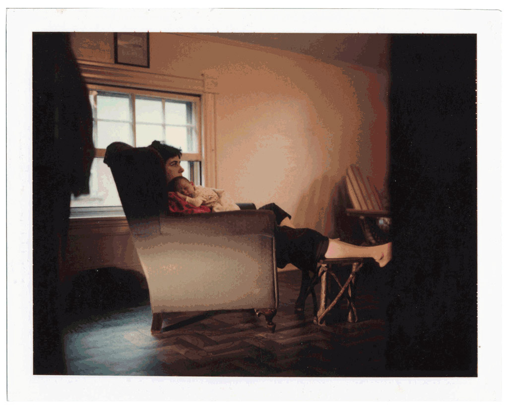 Philip-Lorca diCorcia Untitled, n.d. Polaroid mounted on aluminum 3 3/8 x 4 1/4 inches (8,6 x 10,8 cm).