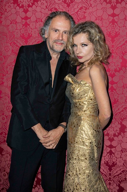 Simon Liberati et Eva Ionesco