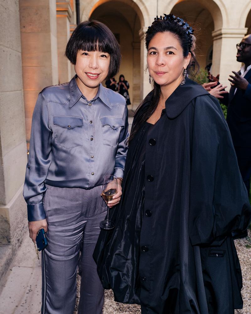 Angelica Cheung et Simone Rocha