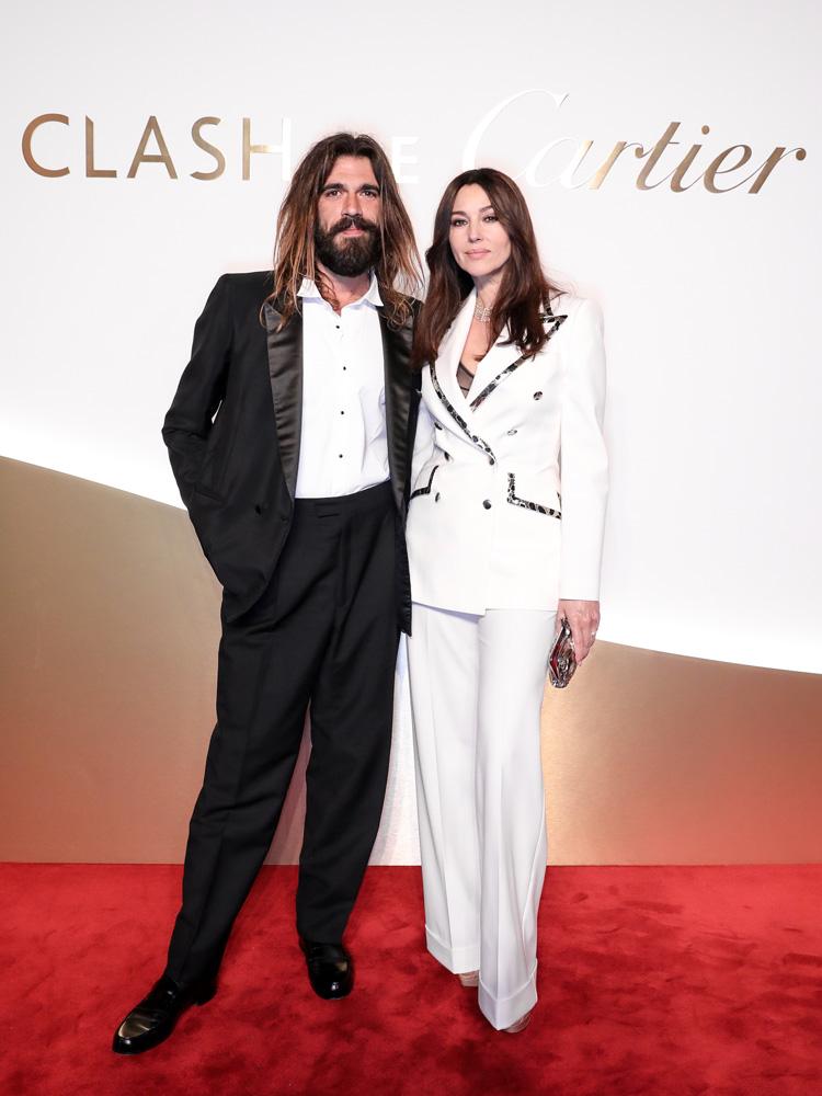 Monica Belluci et Nicolas Lefebvre