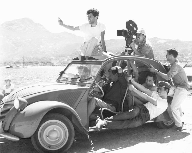 Jacques Rozier 1960 - « Adieu Philippine » de Jacques Rozier  © Raymond Cauchetier