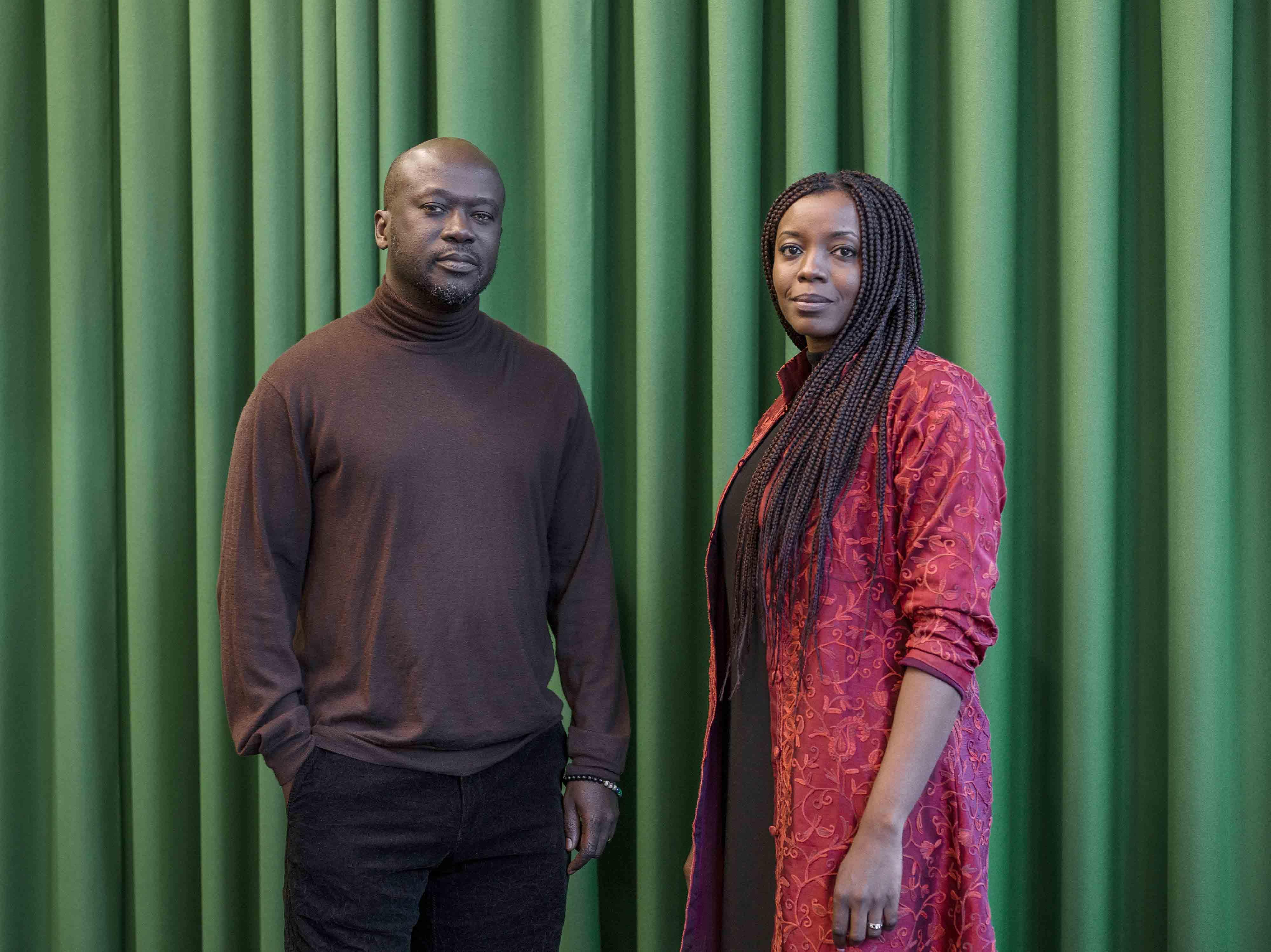 David Adjaye, mentor en architecture et sa protégée Mariam Kamara. ©Rolex/Tina Ruisinger.