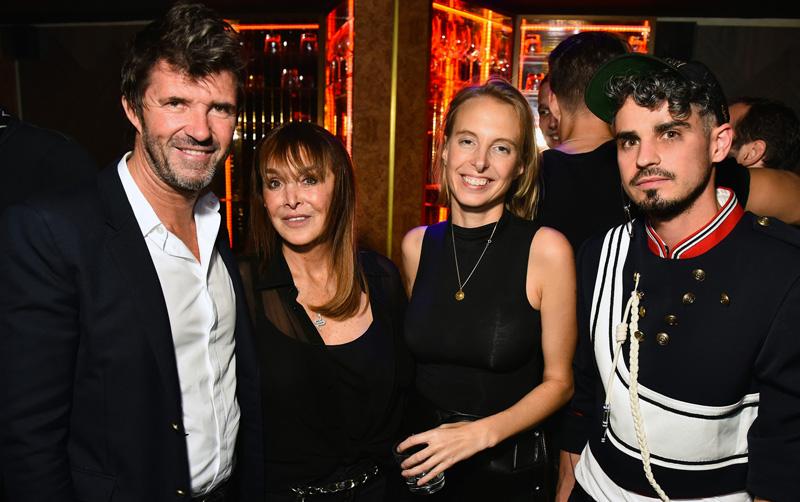 Paul-Emmanuel Reiffers, Babeth Djian, Camille Henrot et Thibaut Wychowanok-Dumas