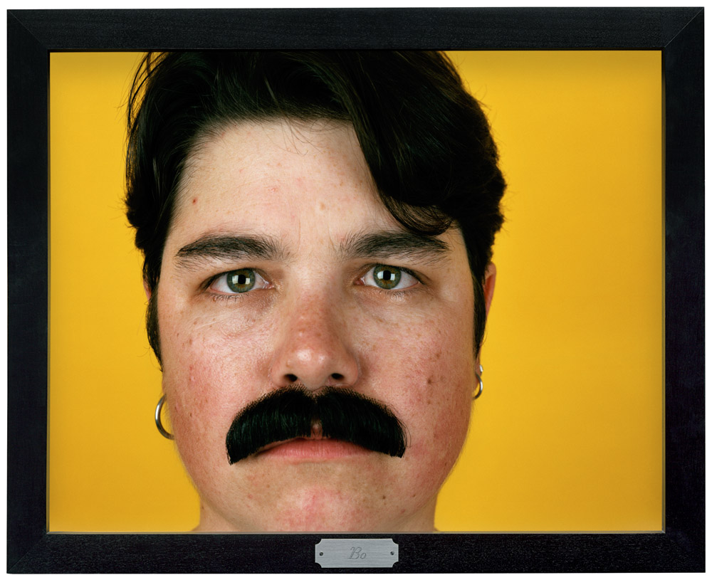 """Bo from ""Being and Having"", 1991, Catherine Opie, Collection of Gregory R. Miller and Michael Wiener © Catherine Opie, Courtesy Regen projects, Los Angeles; Thomas Dane Gallery, London; and Solomon R. Guggenheim Museum, New York."