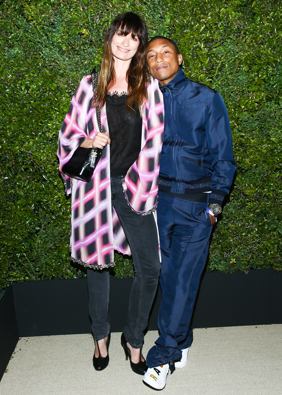 Caroline de Maigret et Pharrell Williams