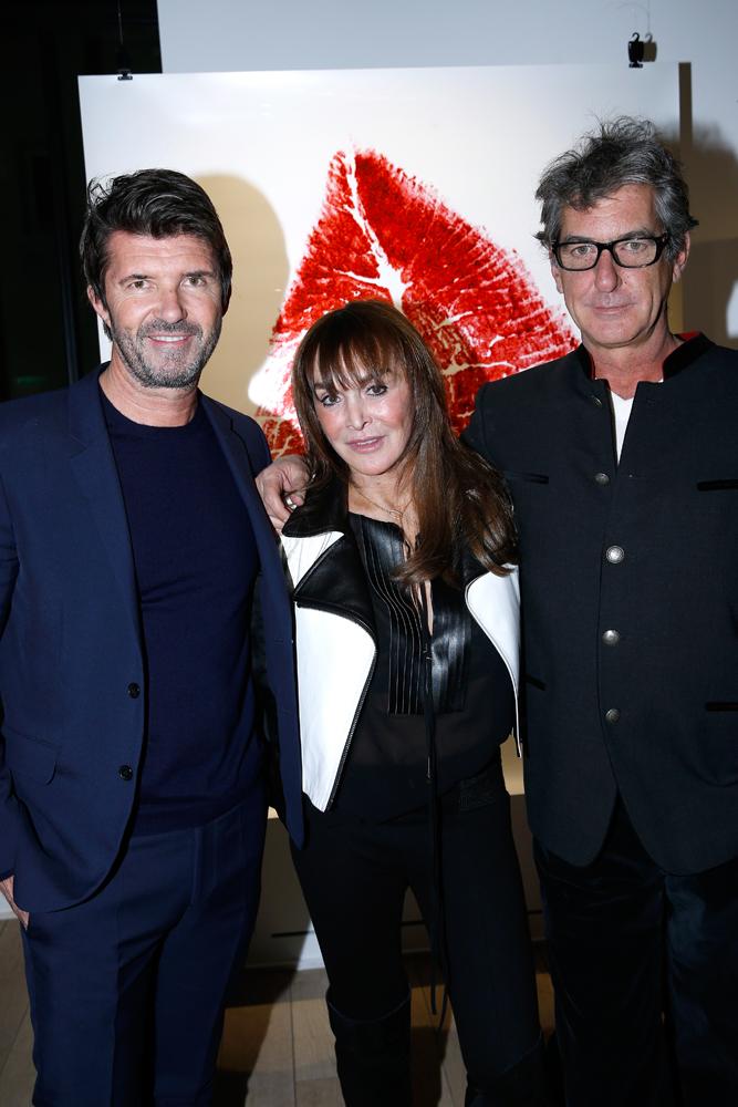 Paul-Emmanuel Reiffers, Babeth Djian et Guido Mocafico