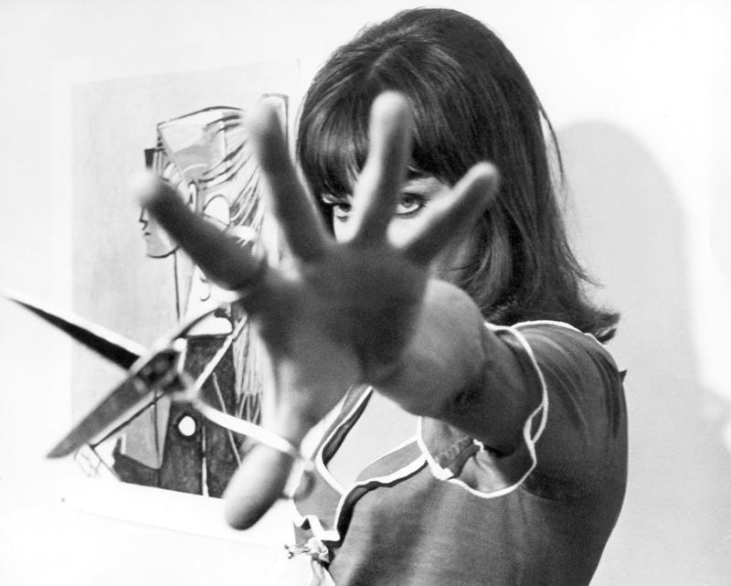 Anna Karina 1965 - « Alphaville » de Jean-Luc Godard © Georges Pierre