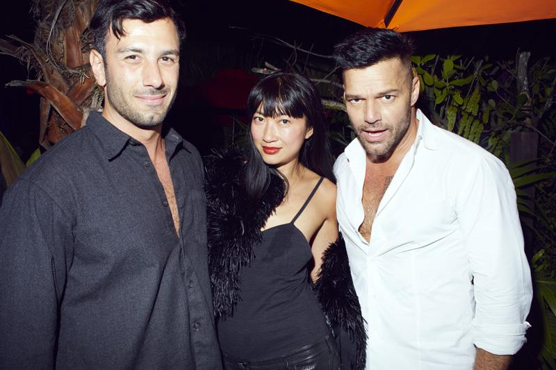 Ricky Martin et Misty Rabbit