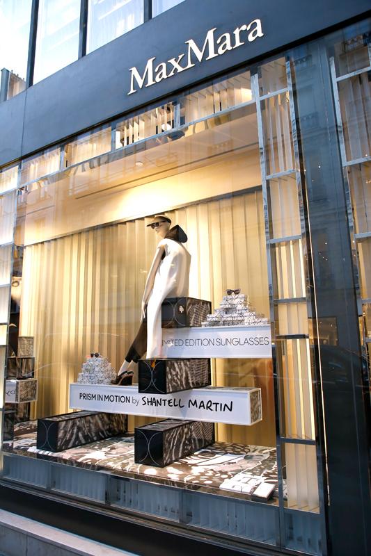 La boutique Max Mara du 408 rue Saint-Honoré à Paris