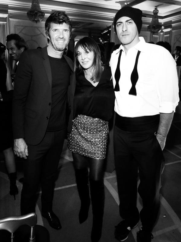 Paul-Emmanuel Reiffers, Babeth Djian et Bebe Moratti