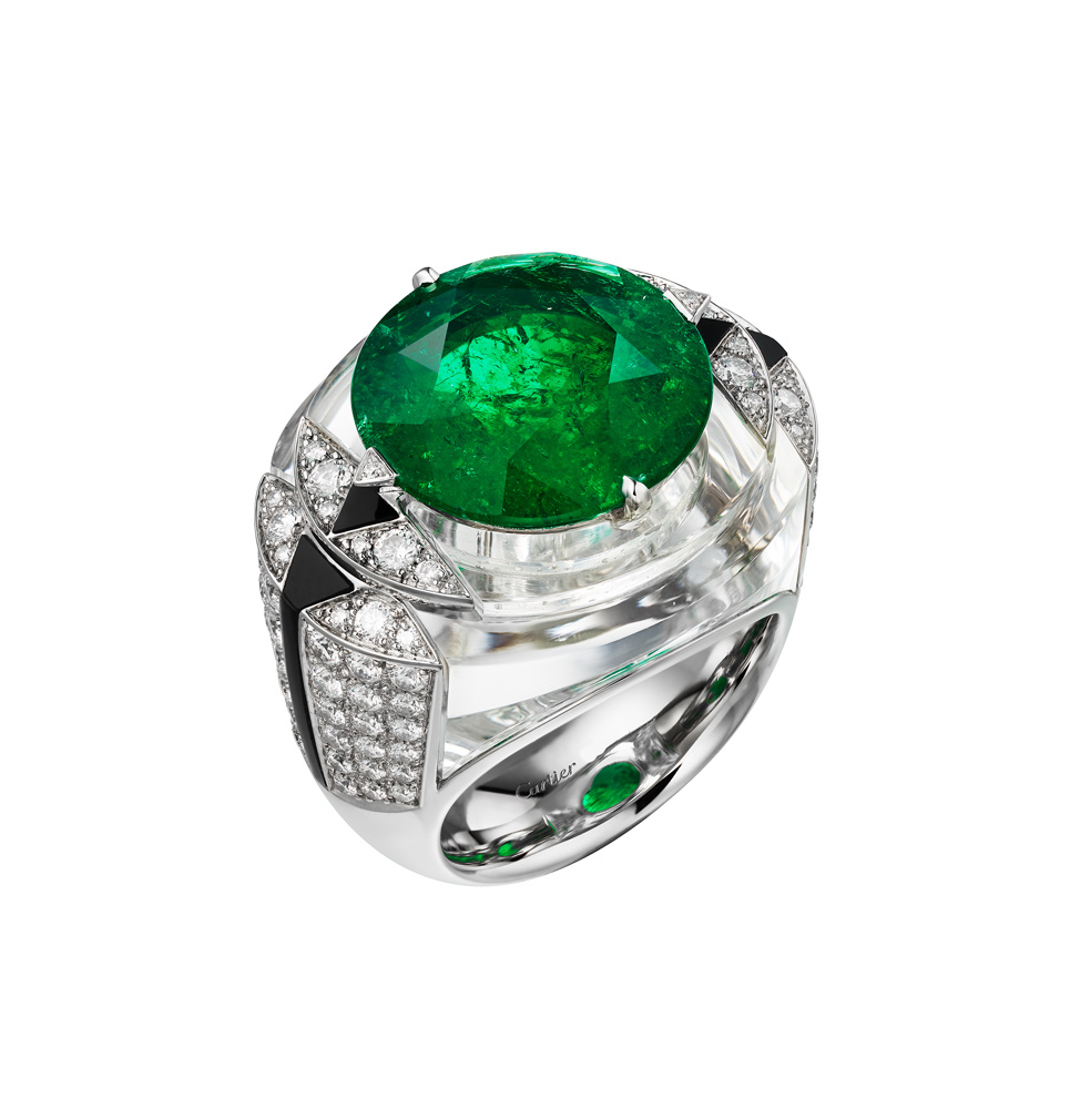 "Collection ""Magnitude"" de Cartier, Bague Théia"