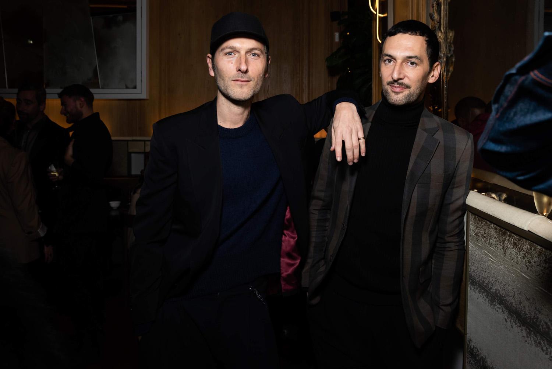 Simon Buret et Olivier Coursier du groupe Aaron