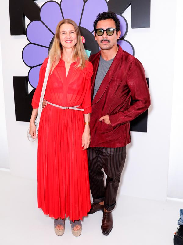 Karla Otto et Haider Ackermann