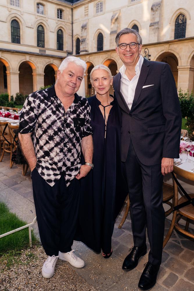 Tim Blanks, Christiane Arp et Michael Kliger