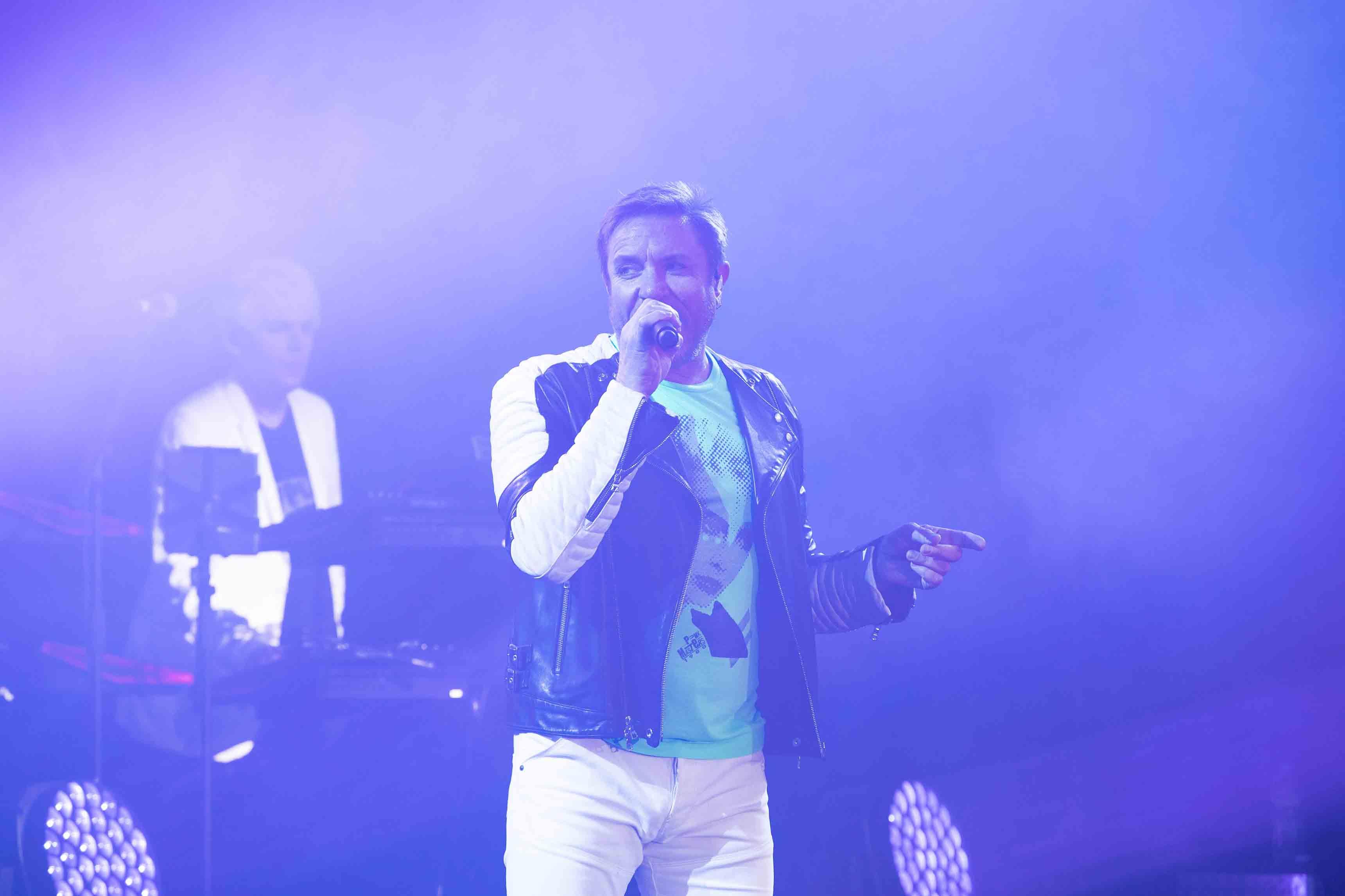 Simon Le Bon, chanteur du groupe Duran Duran