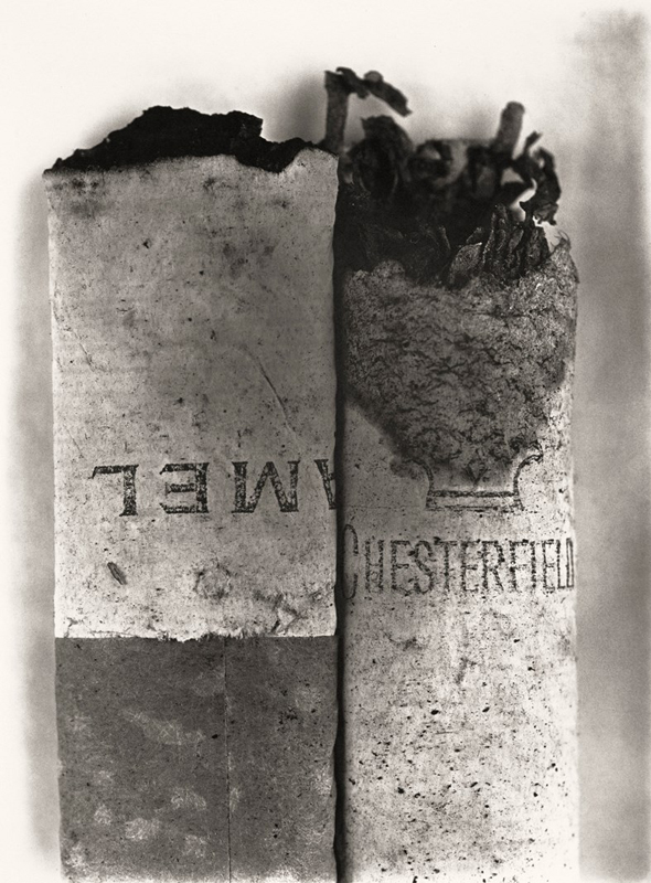 Crédit photo : Irving Penn (American, 1917 – 2009) Cigarette No. 37, New York, 1972 Platinum - palladium print, 1975 23 ½ × 17 ⅜ in. (59.7 × 44.1 cm) The Metropolitan Museum of Art, New York Promised Gift of The Irving Penn Foundation © The Irving Penn Foundation