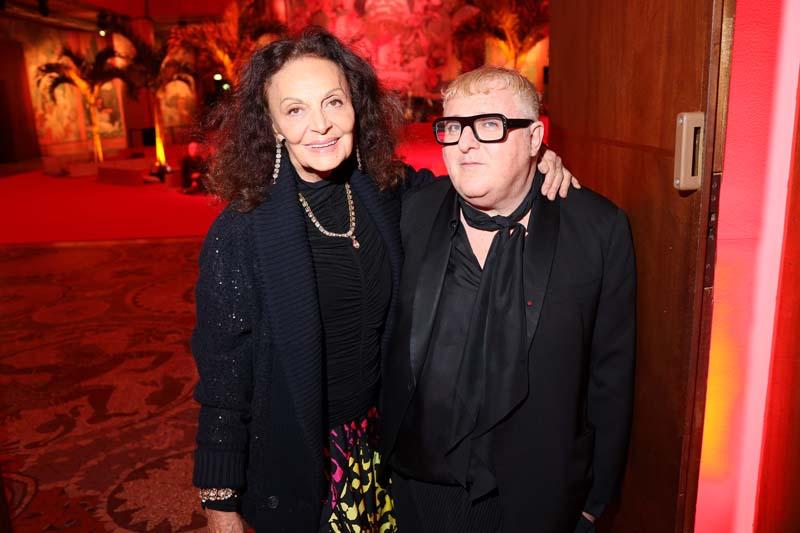 Diane Von Furstenberg et Alber Elbaz