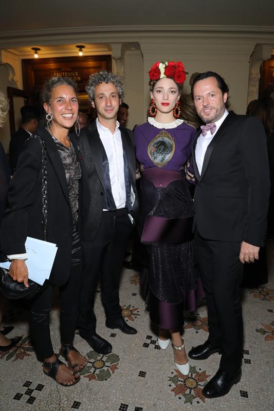 Isabel Marant, Jerome Dreyfus, Sofia Sanchez de Betak et Alexandre de Betak