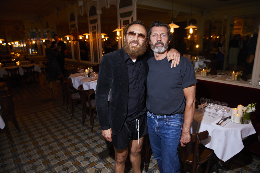 Mathias Kiss et Franck Maillot