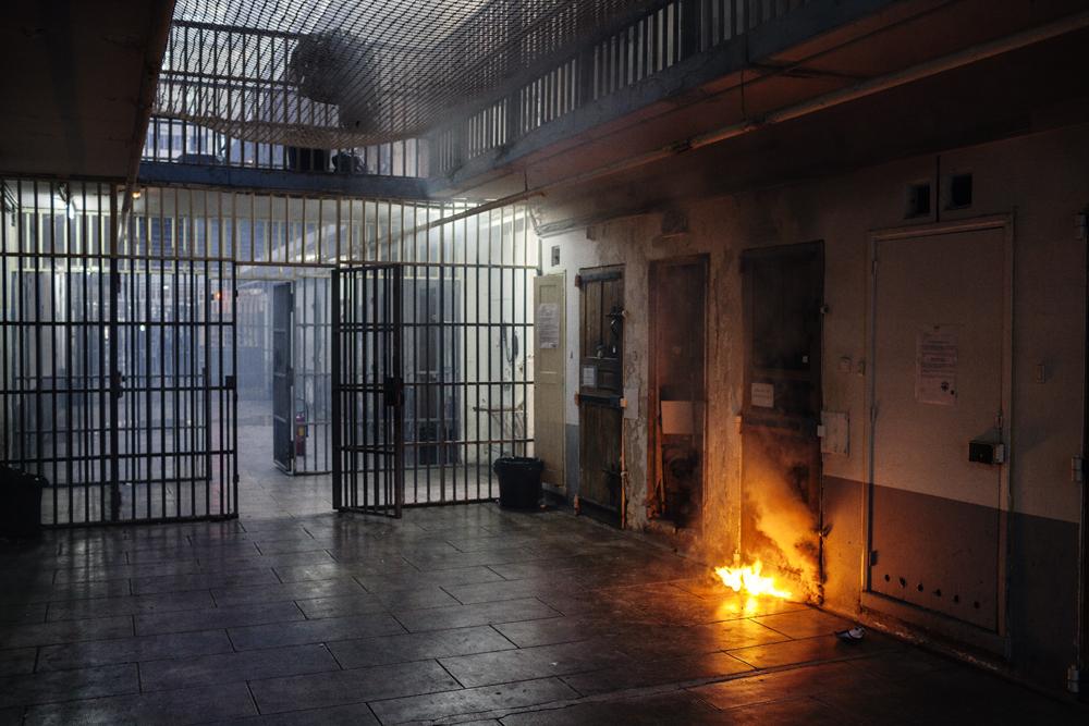 """""""Prison des Baumettes France"""", Grégoire Korganow, photographie, collection de l'artiste"""