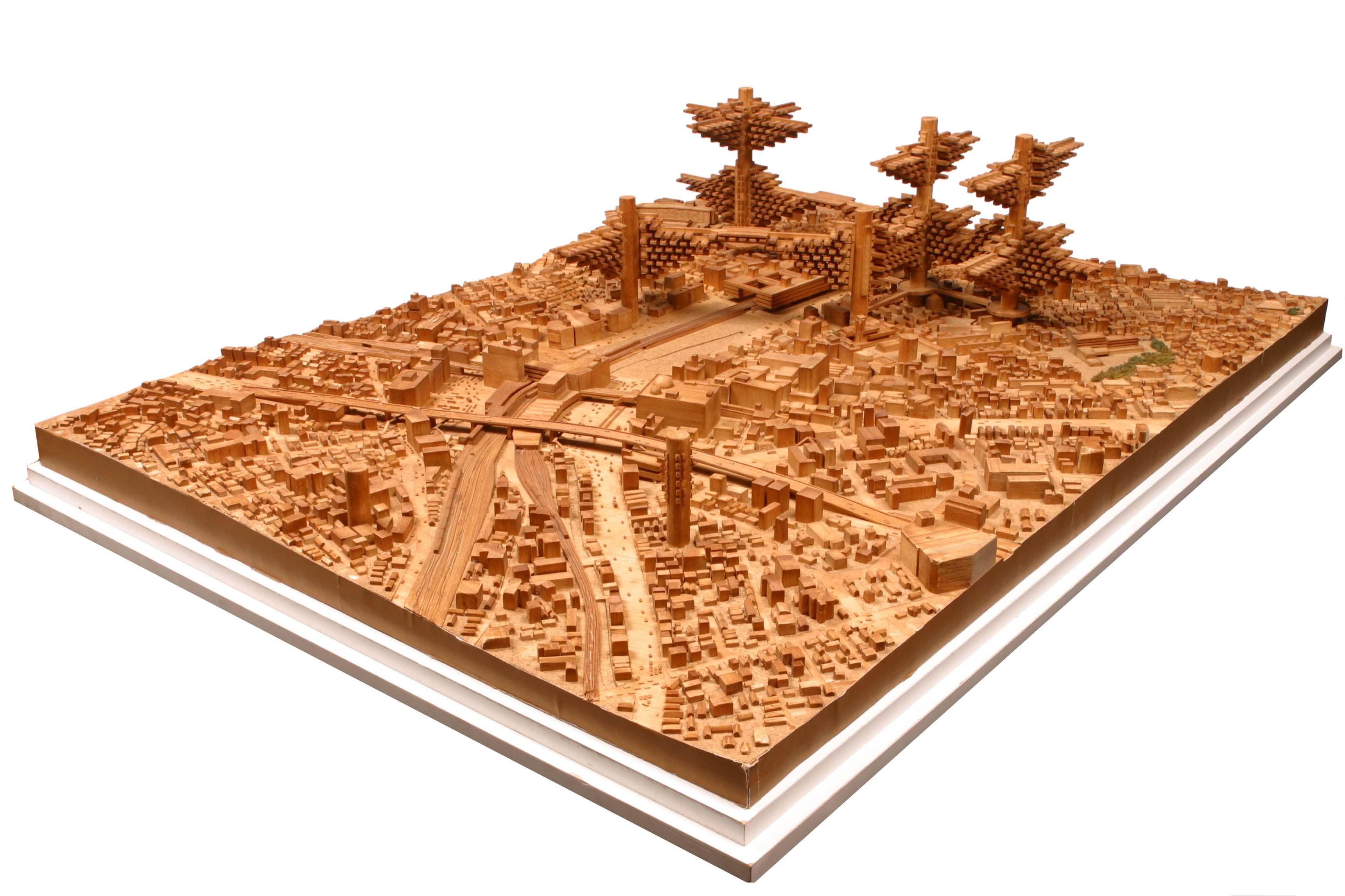 Arata Isozaki, Villes dans les airs, projets non réalisés, Tokyo, 1960 - 1963